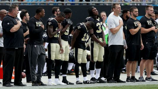 Sean Payton, Saints don't see anthem 'sitters' as sinners - just big winners