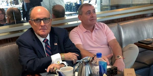 House impeachment investigators reportedly have secret recordings of Trump and Rudy Giuliani, given to them by Giuliani's associate Lev Parnas