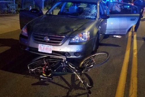 Bicyclist injured in hit-and-run in Revere involving alleged drunken driver