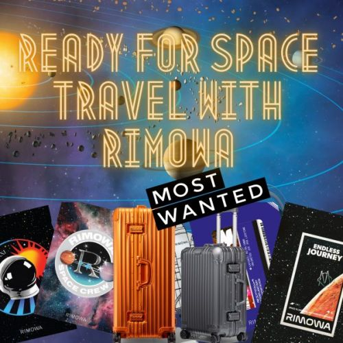 Ready for Space Travel with Rimowa