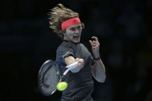 Zverev denies Federer shot at 100th title at ATP Finals