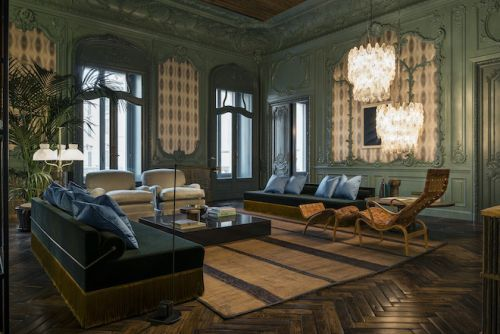 One Sanlitun Beijing expressed in the style of Casa Fendi apartment by Cheng Chung Design