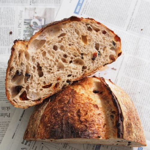 Sun Dried Tomato & Olive Sourdough
