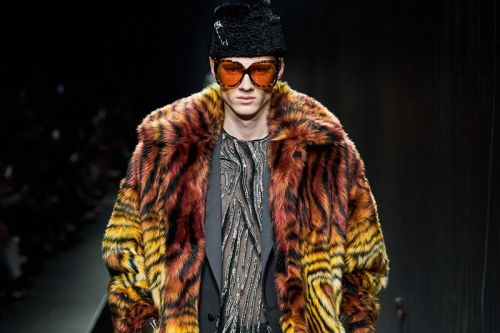 Versace Remains King of Flamboyance at Milan Fashion Week FW20