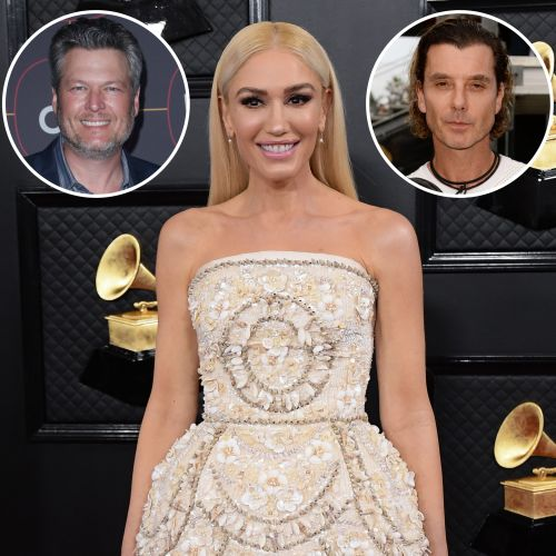Gwen Stefani's Engagement Rings From Blake Shelton and Ex-Husband Gavin Rossdale Compared: Photos