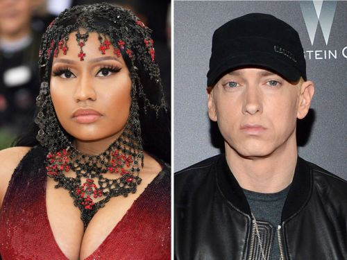 Nicki Minaj said she's dating Eminem - and the fans' reactions are epic