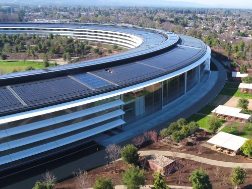 Apple just put the finishing touches on its new $5 billion headquarters - and the results are stunning