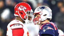 Tom Brady Gets In Face Of Chiefs Lineman Chris Jones And Twitter Howls