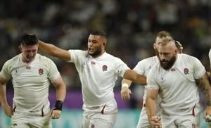 England beats Australia 40-16, reaches Rugby World Cup semis