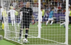 Liverpool's Karius earns unwelcome spot in soccer infamy