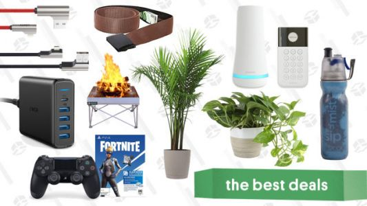 Thursday's Best Deals: Indoor Plant Sale, Mountain Hardwear, USB-C to Lightning Cable, and More