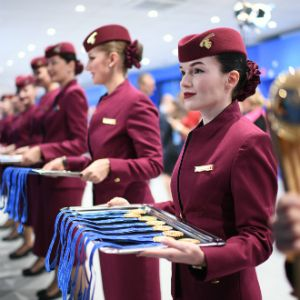 Qatar Airways Congratulates France, Winner of the 2018 FIFA World Cup RussiaTM