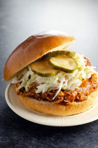 Instant Pot or Slow Cooker Recipe: BBQ Pulled Chicken