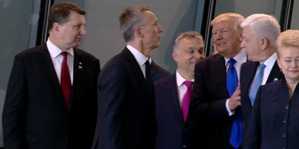 After Trump's puzzling comments, a NATO ally is defending itself as a champion of freedom and stability
