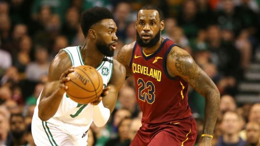 Celtics' Jaylen Brown wanted LeBron James to stay with Cavs to keep Eastern Conference competitive