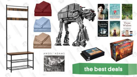 Sunday's Best Deals: LEGO Star Wars Sets, Gloomhaven, Kindle eBooks, Furniture, and More