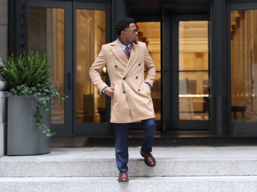 I designed my own men's overcoat at Indochino - here's what it looks like, how it fits, and why I recommend custom clothing to everyone