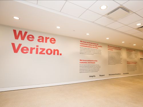 Inside Verizon's newly renovated New Jersey campus, which features an indoor taco truck, an exclusive hotel, and a mile-long track