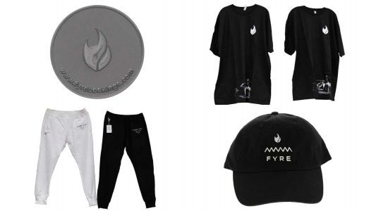 You can now buy merch from the infamous Fyre Fest fraud through a US Marshals auction