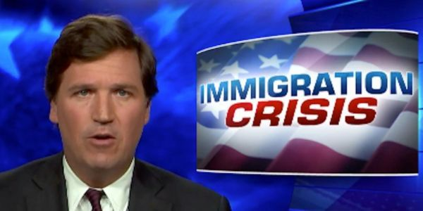 Fox News host Tucker Carlson doubled down on his white supremacy 'hoax' claims, then abruptly announced he's going on vacation