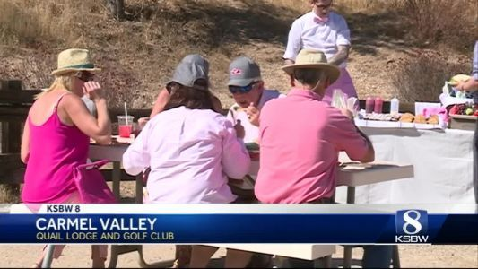 Quail Lodge and Golf Club has gone pink for Breast Cancer Awareness Month