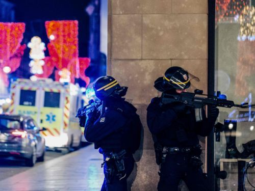 Shooting at Christmas market in France leaves at least four dead, wounded shooter still on the loose
