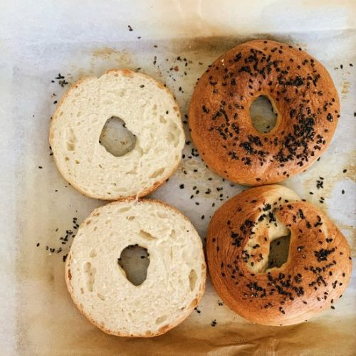 Easy New York Bagel Recipe - 2hrs!