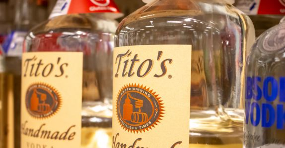Tito's Is Now Officially America's Best Selling Vodka