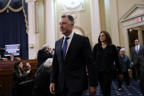 Kurt Volker faces scrutiny amid new testimony on Ukraine saga