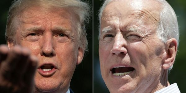 'Presidents are supposed to lead': Biden says Trump refusing to wear a mask in public amounts to 'stoking deaths'