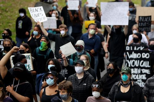 Black communities at heart of Floyd protests face 'pandemic within a pandemic'