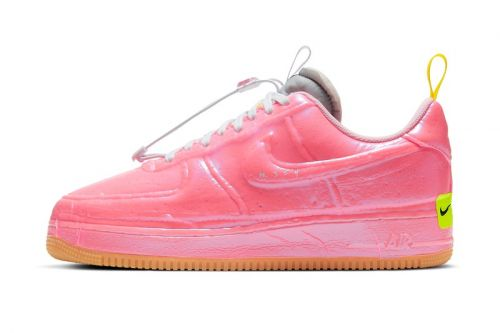 "Nike Shrink Wraps the Air Force 1 Experimental ""Racer Pink"""