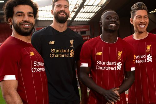 New Balance Brings Back White Stripes for Liverpool 2019/20 Home Kit