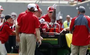NC State's Bryant OK after being sent to hospital for X-rays