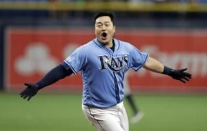 Choi has 2-run single in 9th, Rays beat Tigers 5-4