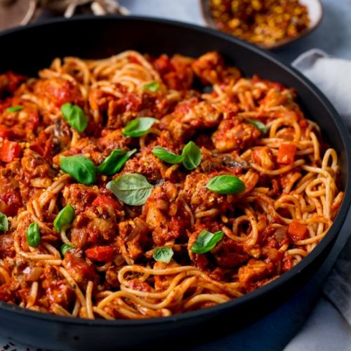 Chicken Red Pepper Pasta
