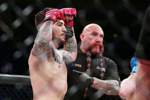 Dillon Danis happy to make his own weight class after Bellator 222 win