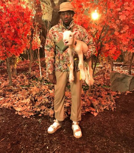 Watch A$AP Rocky and a baby lamb model Tyler, The Creator's new collection