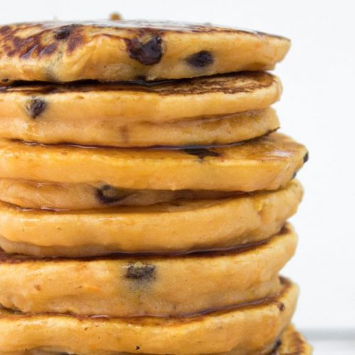 Fluffy Vegan Sweet Potato Pancakes