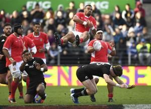 Tonga's Manu beats cancer and chemotherapy to play at RWC