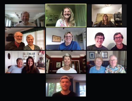 Zoom Virtual Meetings Bring TCC Members Together