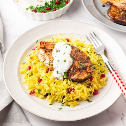 Middle Eastern Saffron Rice