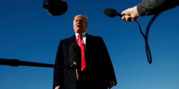 Trump said it 'certainly looks' like Jamal Khashoggi is dead, but said he's not ready to issue a 'very strong' statement yet