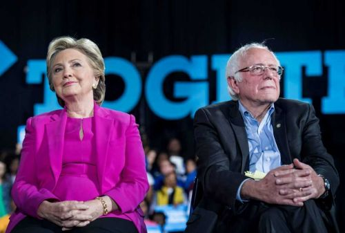 Hillary Clinton says 'nobody likes' Bernie Sanders; won't commit to backing him
