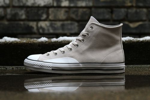 """Converse CONS Applies """"Pale Grey"""" Suede to the CTAS Hi and One Star"""