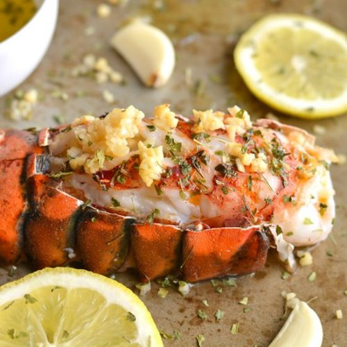Whole30 Lemon Garlic Lobster