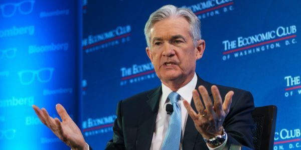 Fed Chair Jerome Powell says he's worried about rising US debt