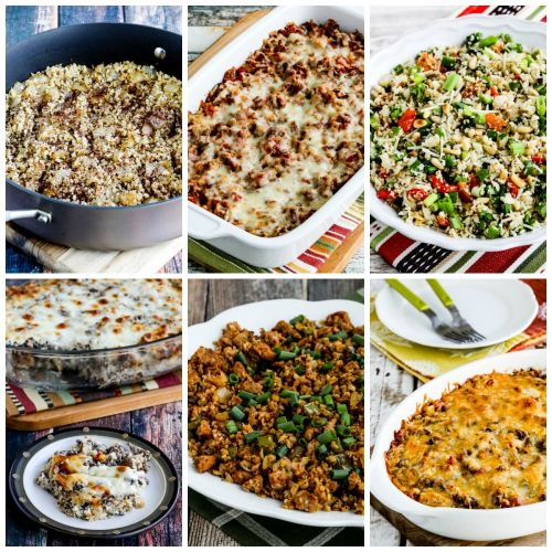 My Favorite Low-Carb Recipes with Cauliflower Rice