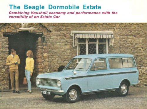 There's not a many cars that have been named for specific dog breeds, but I think this Bedford Beagl