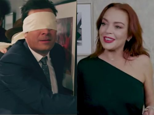 Jimmy Fallon parodied Netflix's 'Bird Box,' and revealed that dancing Lindsay Lohan is the monster